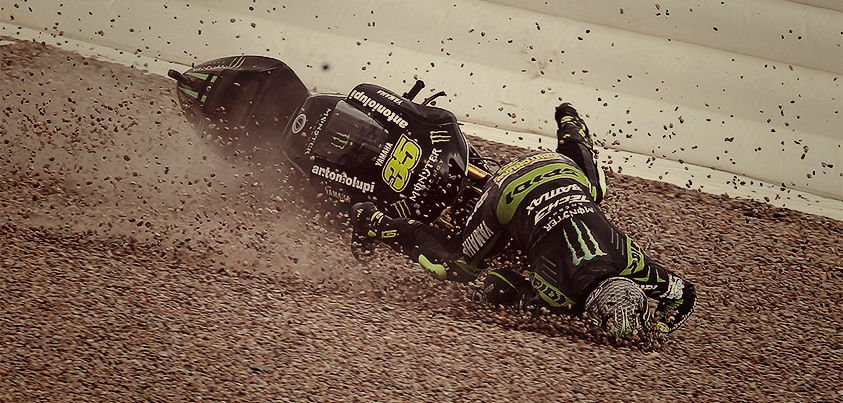 Crutchlow-crash
