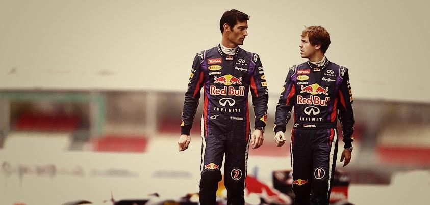 Webber Vettel