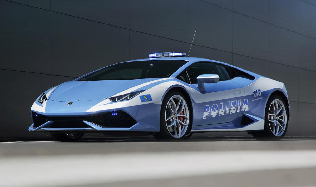 Lamborghini-huracan-polizia