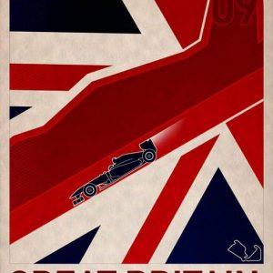 British+GP+Formula+1+F1+2012+Great+Britain+Silverstone+poster