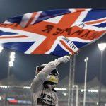 Lewis Hamilton world champion Mercedes W05