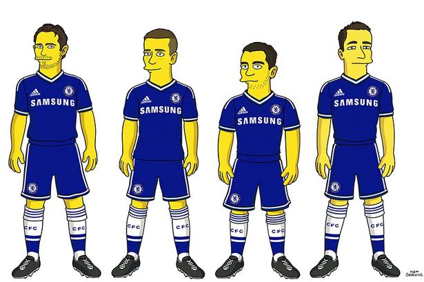 Chelsea-FC-and-Simpsons
