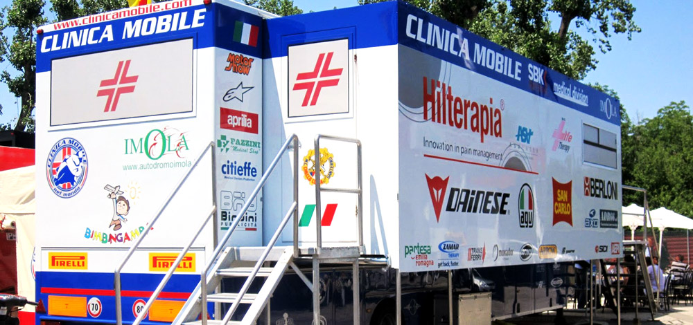Corman e la Clinica Mobile MotoGP